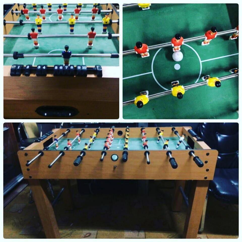 For Sale Table Soccer Price 25 Bd للبيع لعبة فيشة بحالة ممتازة السعر 25 Bd Tel 33770050 In 2020 Skateboard