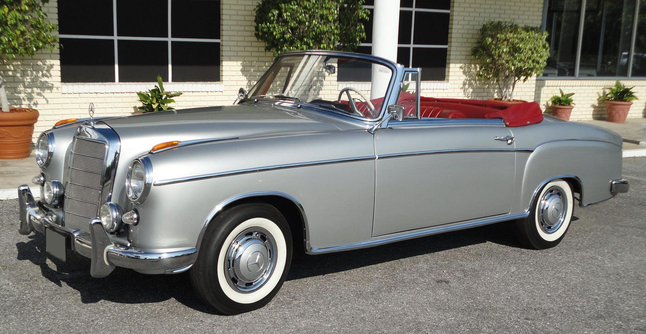 1957 Mercedes Benz 220S | Mercedes benz sports car, Mercedes benz 220,  Classic mercedes
