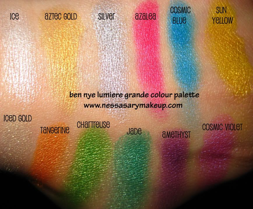 Product Review and Introduction Ben Nye Lumiere Grande