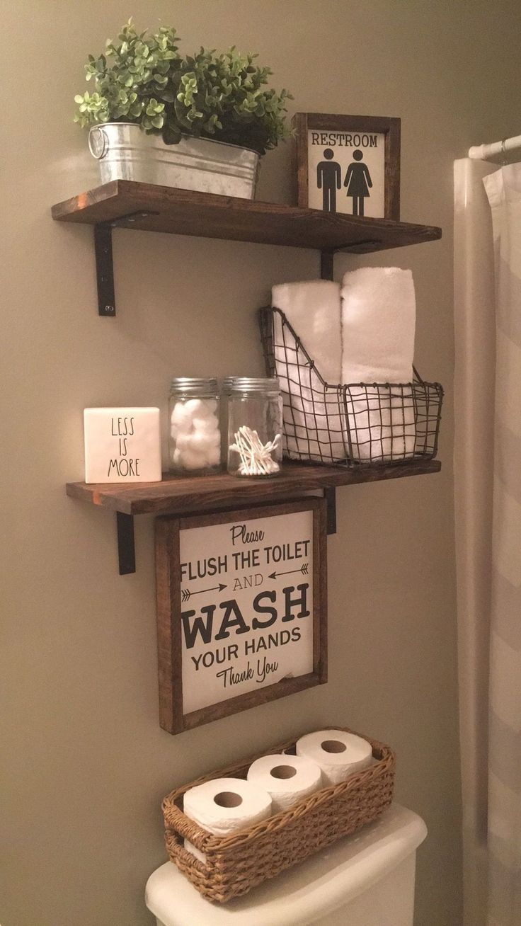 20+ Small Bathroom Storage Ideas and Wall Storage Solutions