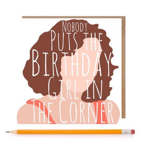 Dirty Dancing Baby Card Dirty Dancing Birthday Card by TheGinFox – Dancing Baby Birthday Card