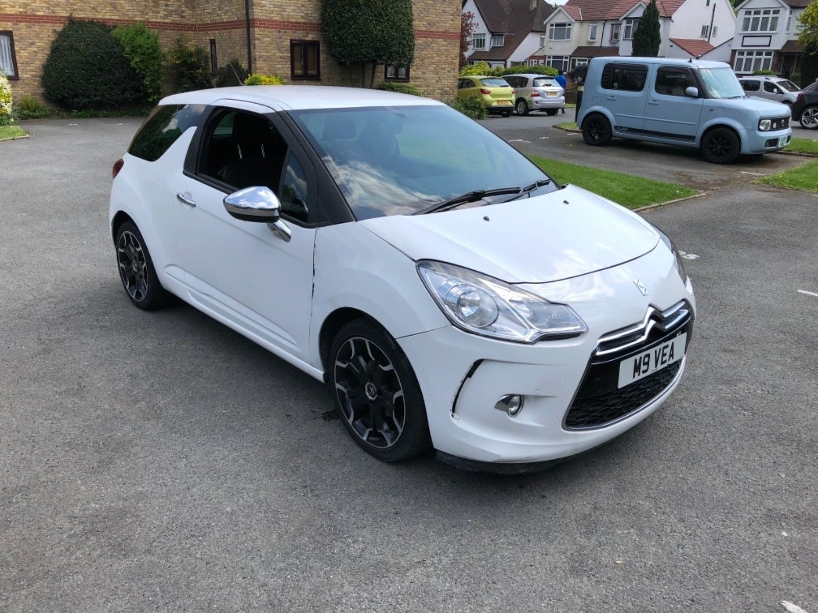 Ebay Citroen Ds3 1 6 Hdi Black And White Minor Salvage Damage Not