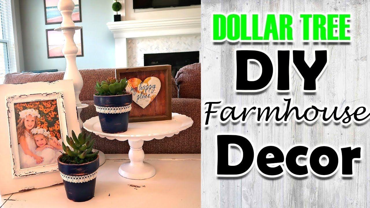 Diy dollar tree farmhouse room decor youtube dollar