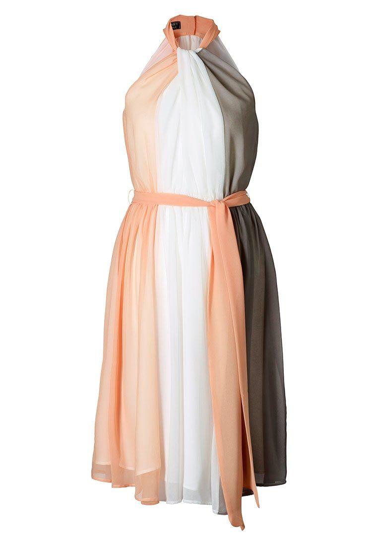 Apart - Cocktailkleid / festliches Kleid - apricot/creme/taupe ...