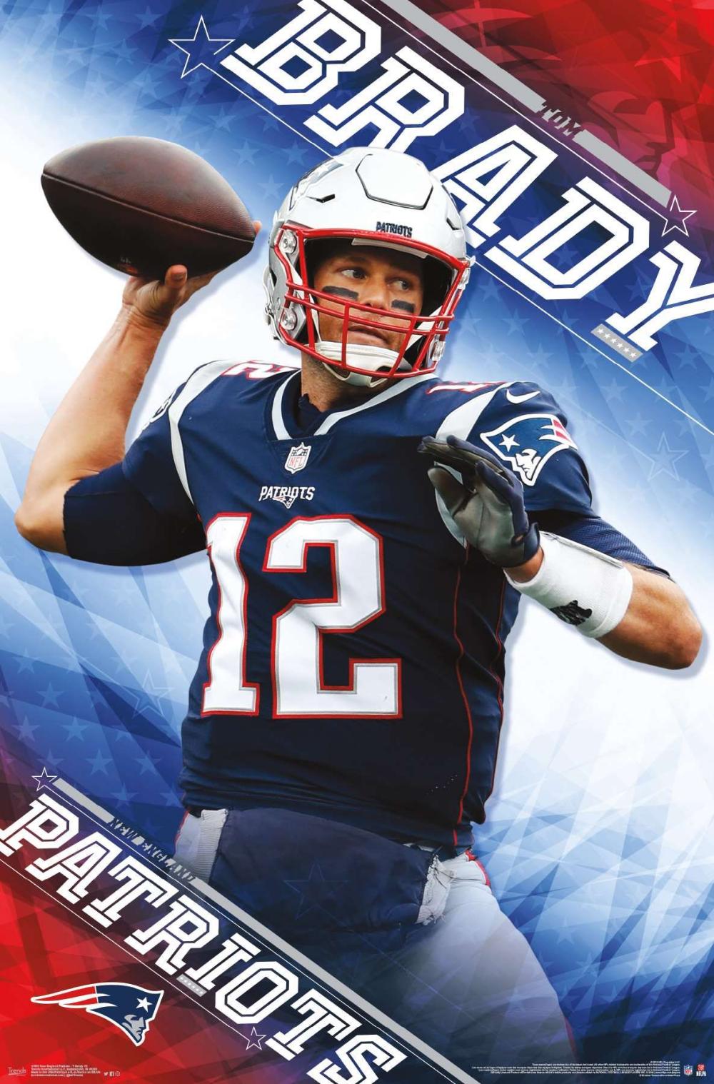 NFL New England Patriots Tom Brady (With images) Nfl