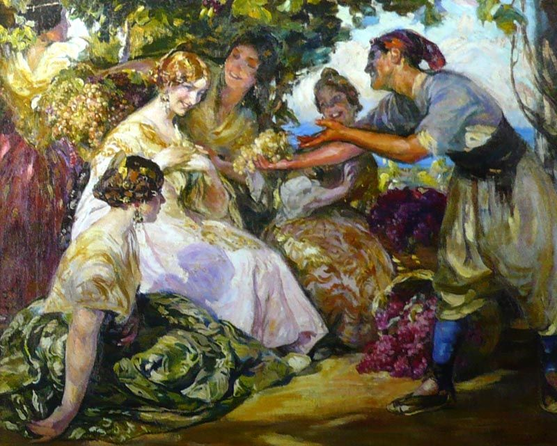 Valencianas pintadas jos mongrell torrent valencianas - Pintor valenciano ...