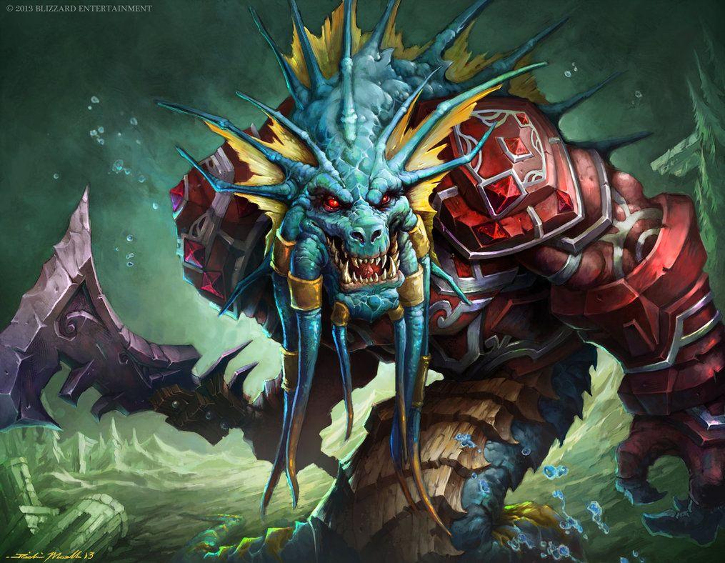 Naga Royal Guard By Wreckonning On Deviantart Warcraft Art Fantasy Creatures World Of Warcraft