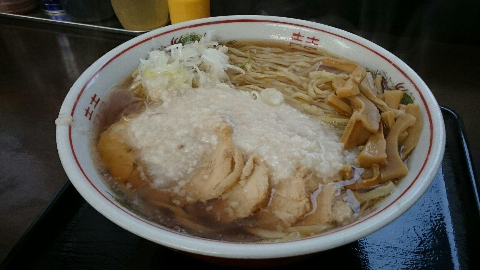 酒田市 風林火山 中華そば 中 こってり | Noodle | 中華そば, そば ...