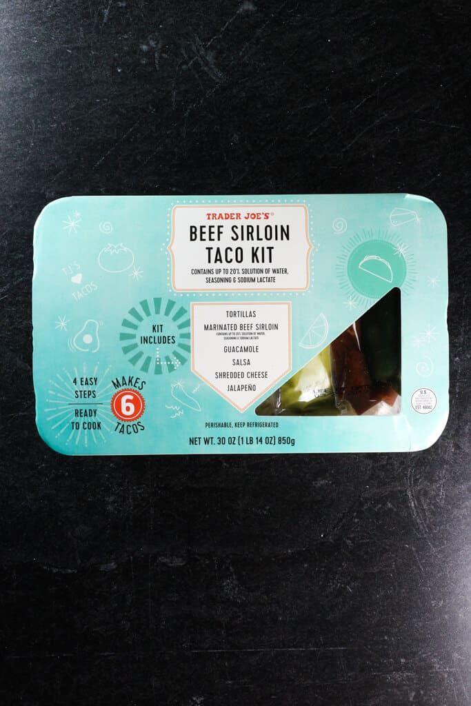 Trader Joe's Beef Sirloin Taco Kit | Joe beef, Beef ...