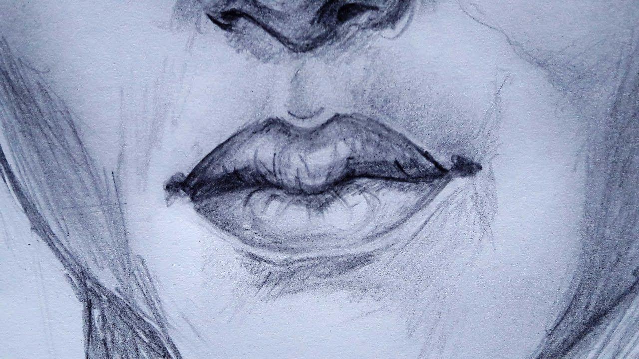 تعلم رسم الفم باسهل طريقة ممكنة رسم الفم للمبتدئين Artwork Drawings Art