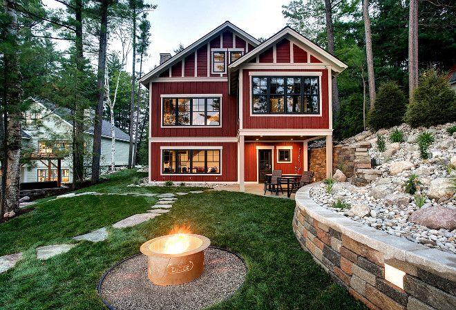 Lake House Exterior Ideas. Small Lake House Exterior. Small Lake House  Exterior Plan BAC