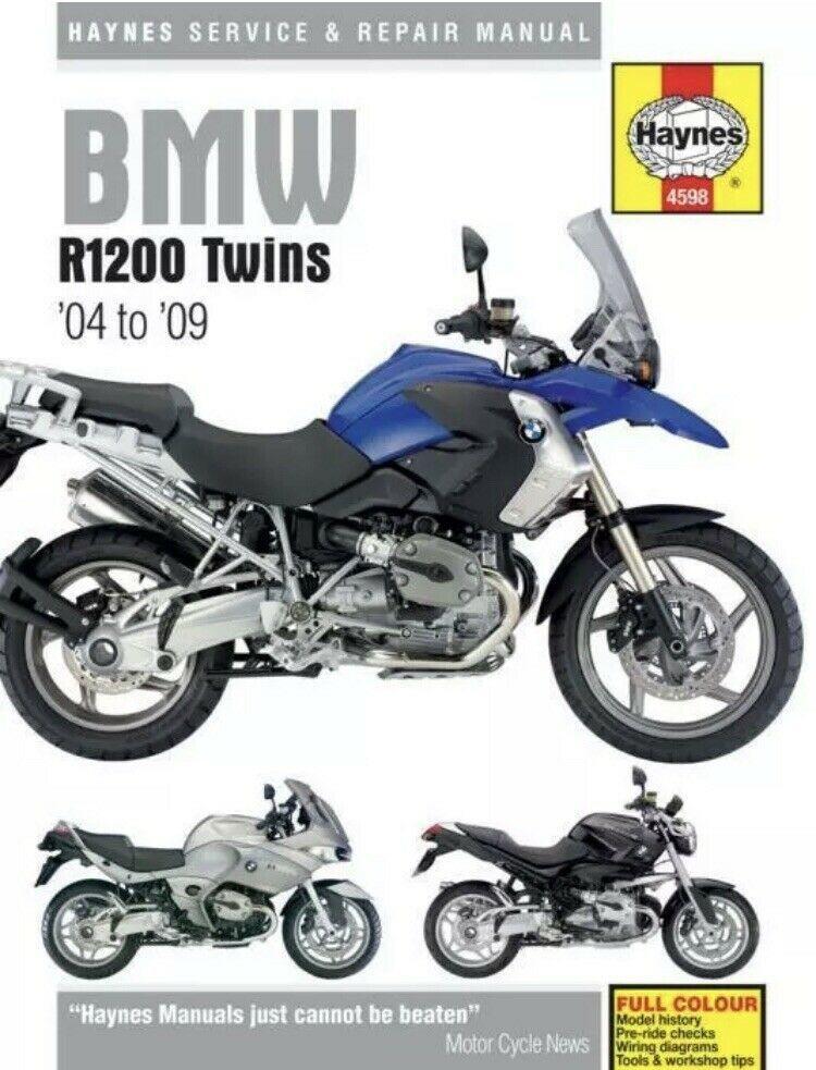 Haynes Workshop Manual Bmw R1200 Twins 2004 2009 New Service Repair Motorcycle Ebay Repair Manuals Motorcycle Repair Repair