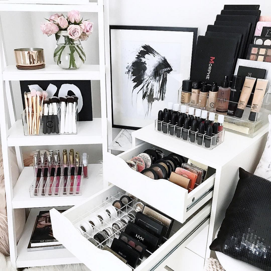 8 Brilliant Makeup Organizer Ideas Makeup rooms, Makeup