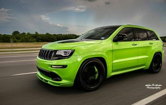 Toxxicsrt Lime Green Jeep Srt Srt Jeep Jeep Srt8 Jeep Grand