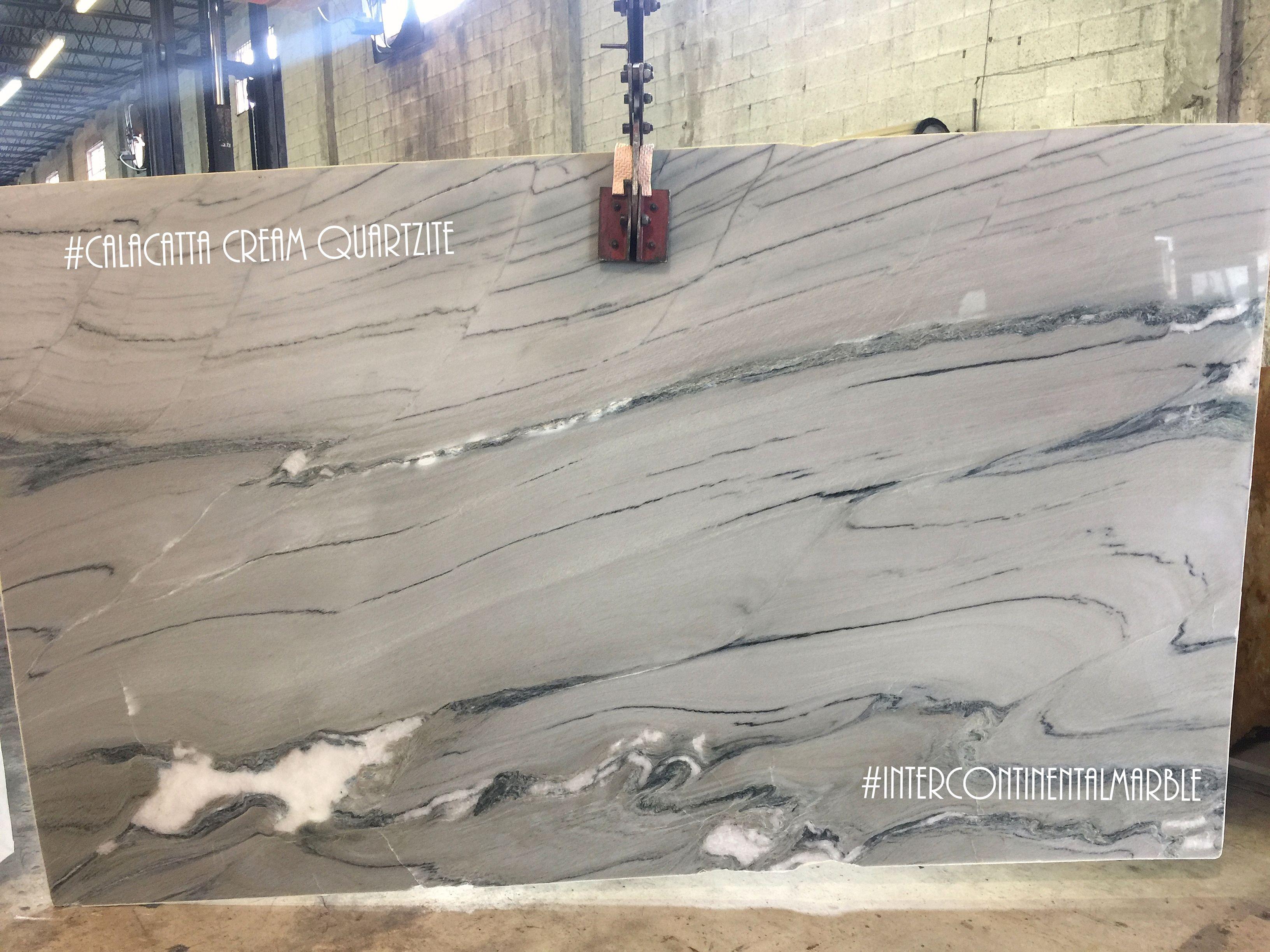 JUST ARRIVED: Calacatta Cream Quartzite