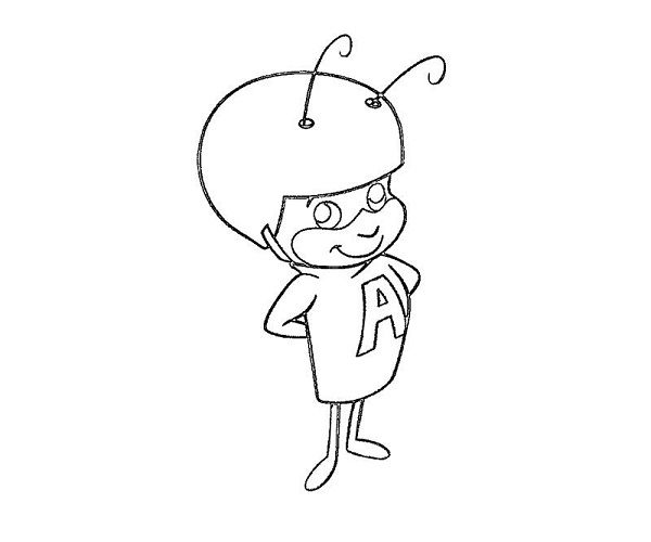 Atom Ant Coloring Pages New Coloring Pages Coloring Pages Color Atom Ant