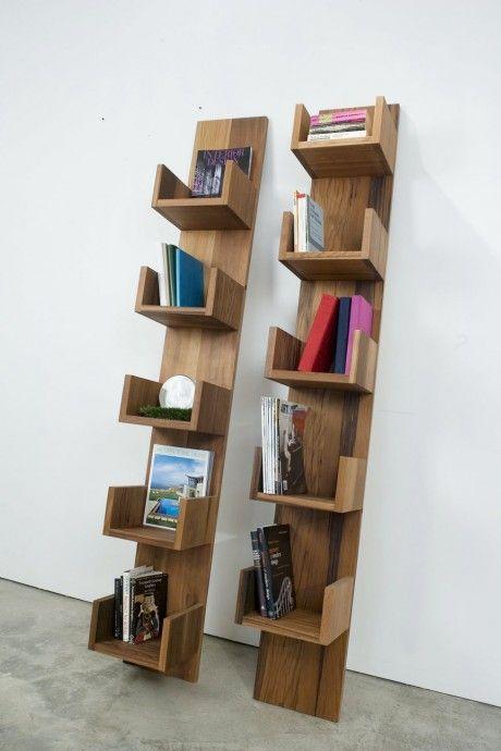 40 Ideias de estantes e prateleiras para livros | Constru-Básico – Sua casa em um blog.