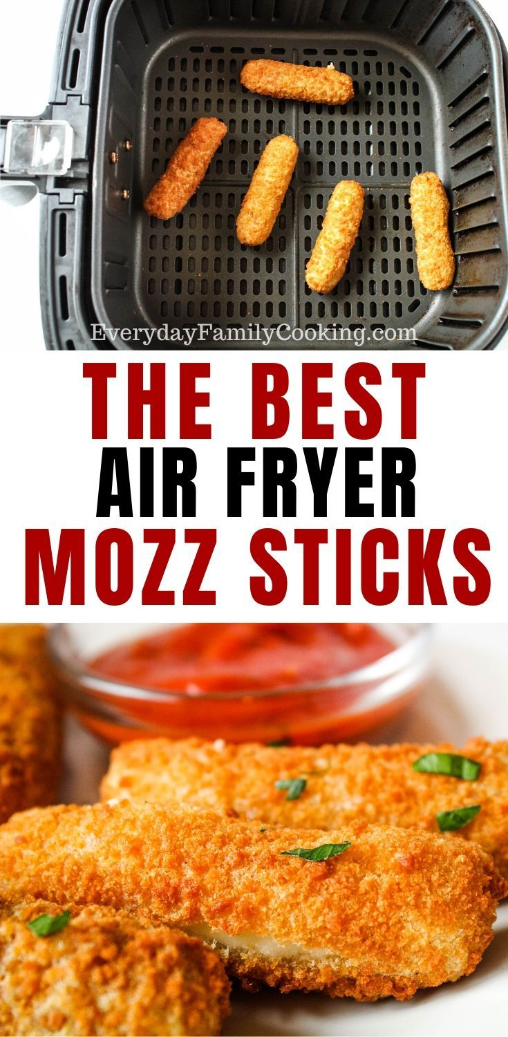 Air Fryer Frozen Mozzarella Sticks Recipe in 2020 (With