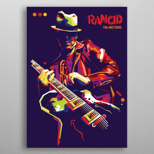 Rancid WPAP by ICAL SAID WPAP | metal posters - Displate | Displate thumbnail