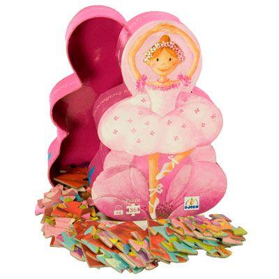 adorable ballerina puzzle #gift #idea #3 #year #old #girl #Christmas #birthday #list #wish $13.49