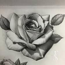 Image Associee Sleeve Tattoos Roses Drawing Rose Tattoo Design