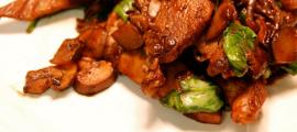 Balsamic Glazed Chicken & Mushrooms
