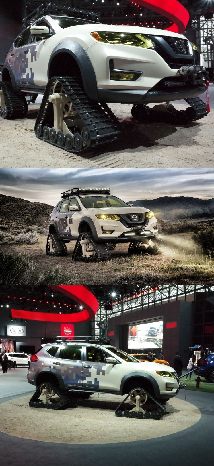 Nissan Rogue Trail Warrior Project sets tracks for