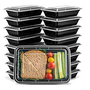 Photo of Ez Prepa [20 Pack] 28oz Single Compartment Meal Prep Containers w