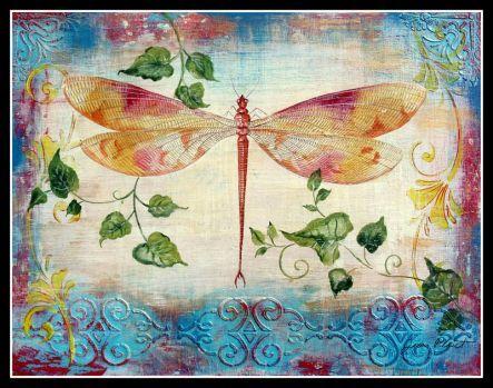 aqua-dragonfly