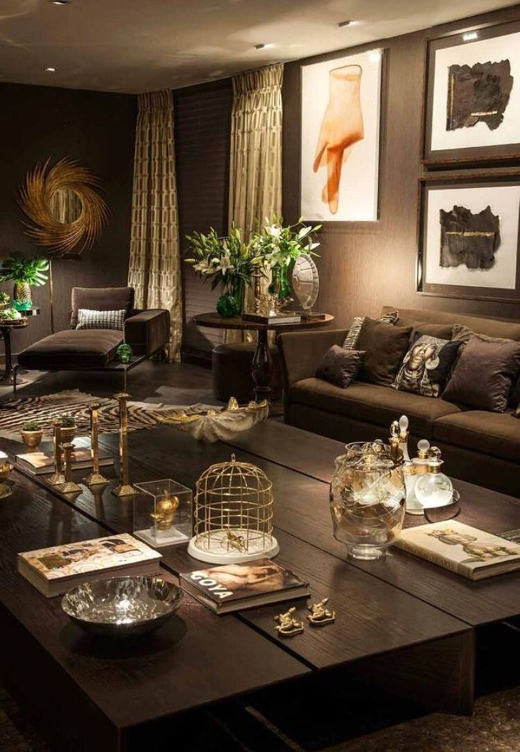 Great 10 Creative Methods To Decorate Along With Brown. Brown And Gold Living RoomSmall  Livingroom IdeasSouth Shore DecoratingBeautiful ... Awesome Design