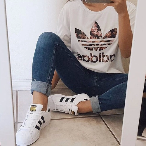 45 Most Popular Adidas Outfits on Tumblr for Girls | Adidas ...