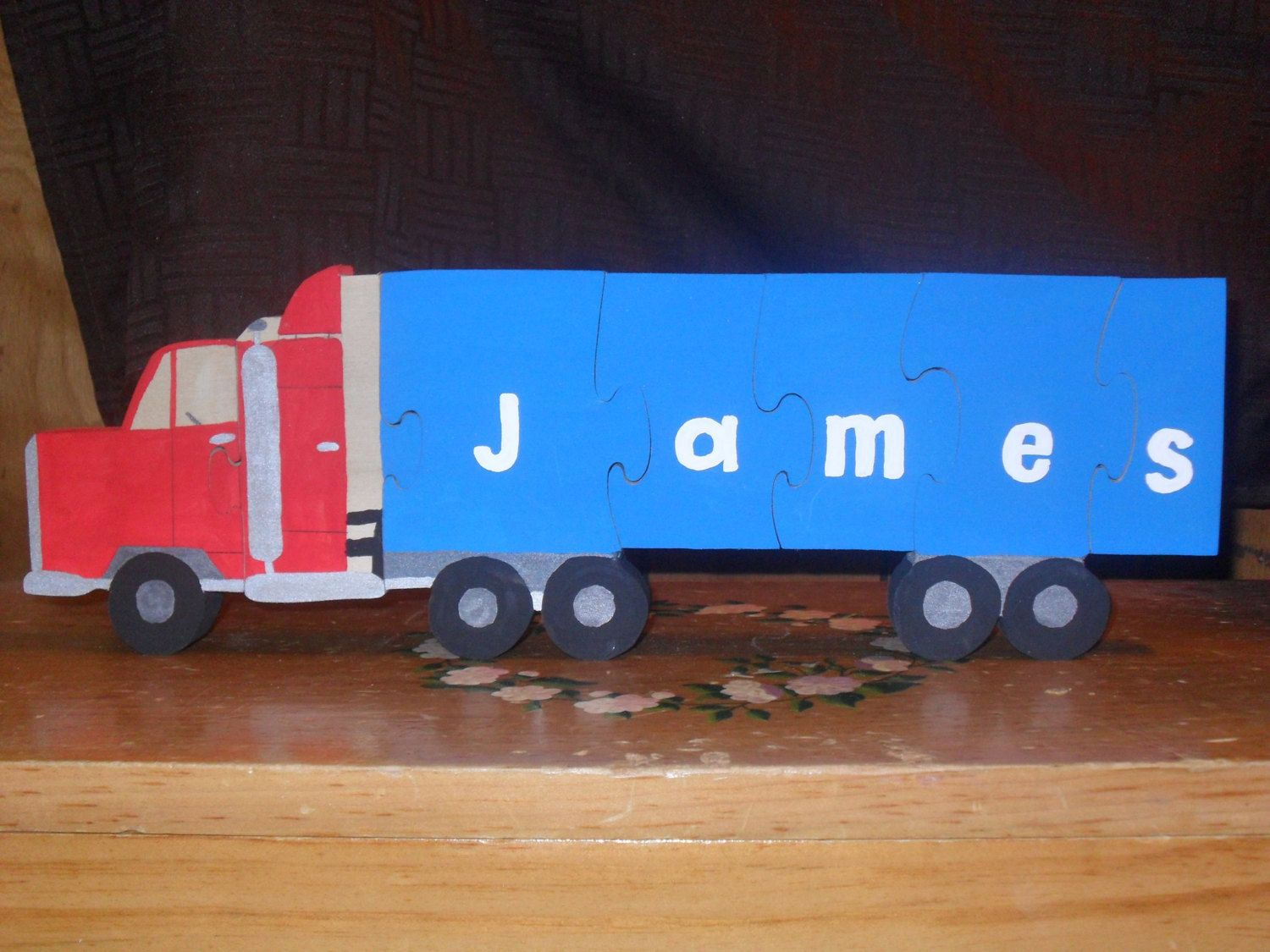 Toys images with names  Puzzle name puzzle wooden puzzle personalized puzzle custom