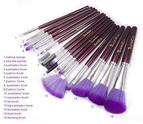 Photo of iLoveCos Makeup Brushes Set 16PCS Eyeshadow Lip Brush Set