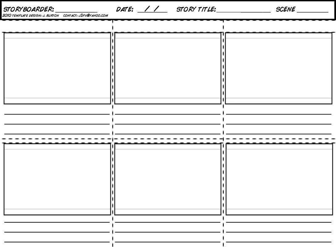 Brainstorm Story Composition Worksheet