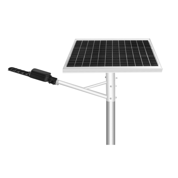 50w Solar Pole Light For Main Road Lighting Project Solar Pole