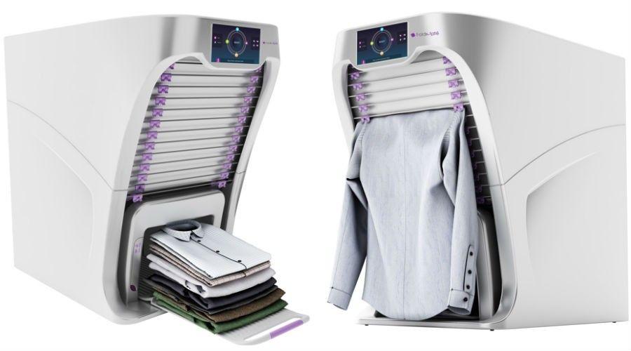 foldimate une machine qui plie le linge toute seule. Black Bedroom Furniture Sets. Home Design Ideas