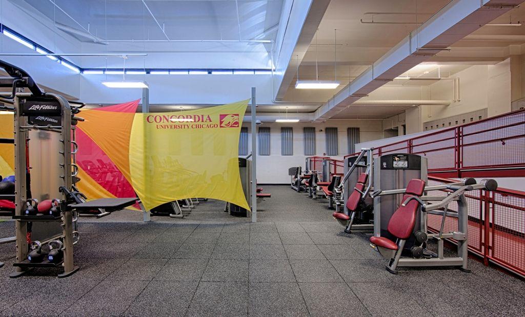 Concordia University Chicago Fitness Center ecoreintl