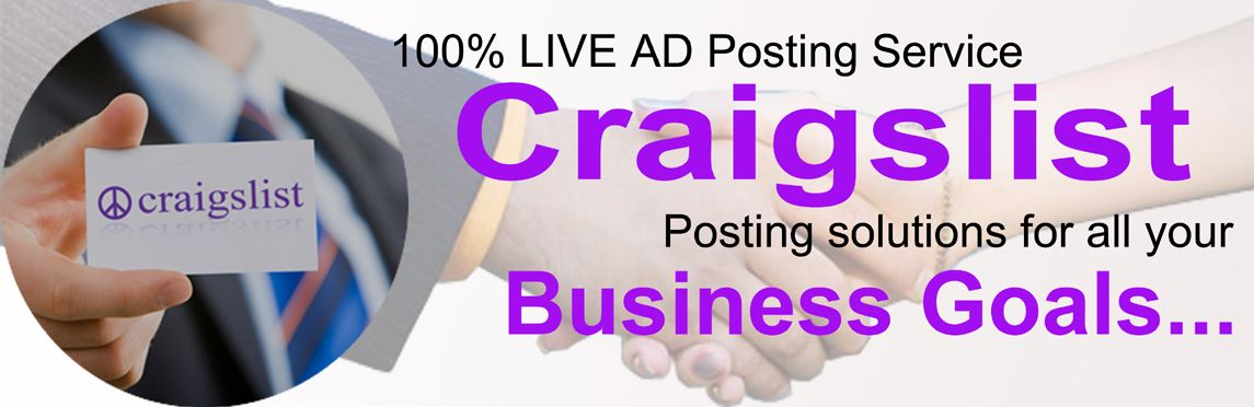 Pin By Classifiedsadposter On Craigslist Ad Posting Service Ads Business Goals Seo