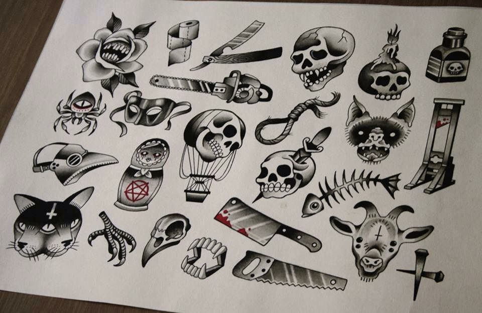 Halloween Tattoo Designs From Last Year Stay Posted For This