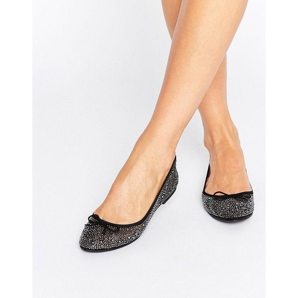 Nº21 embellished double strap ballerina flats ($620) liked