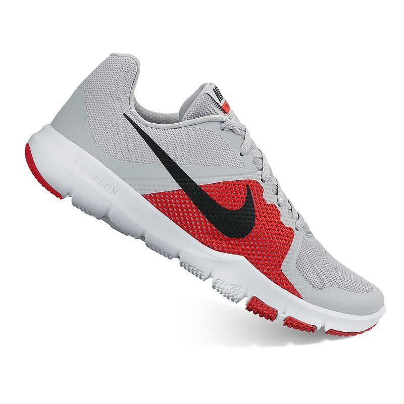 Nike Flex Control Men's Cross-Training Shoes, Size: 14, Grey ...