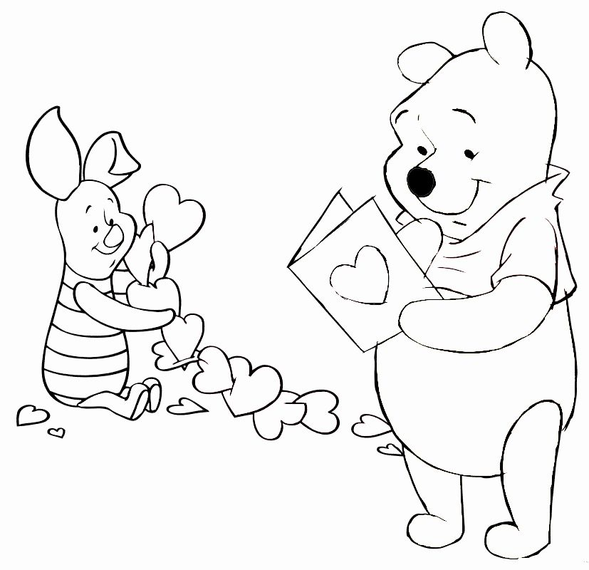 Disney Valentine Coloring Page Best Of Free Printable Valentine S Day Coloring Pa Valentines Day Coloring Page Valentine Coloring Pages Valentines Day Coloring