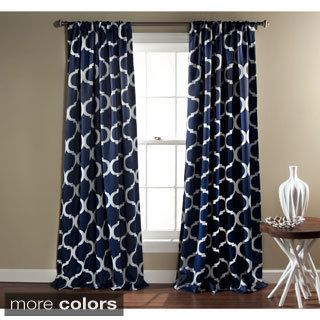Create A Contemporary Living Room With The Bold Geometric Design Of This Curtain Panel Your