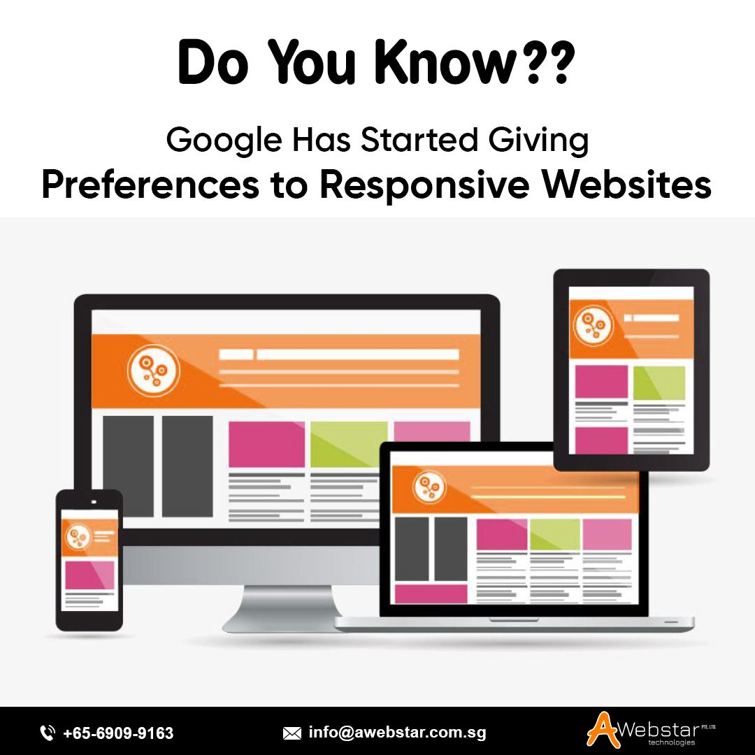 Responsive Web Design Service Singapore Web Development Company Web Design Responsive Web Web Design Services
