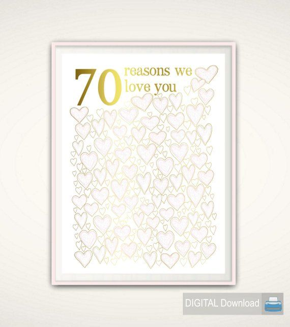 th birthday  for mom printable gold and pink ideas party decorations poster also rh pinterest