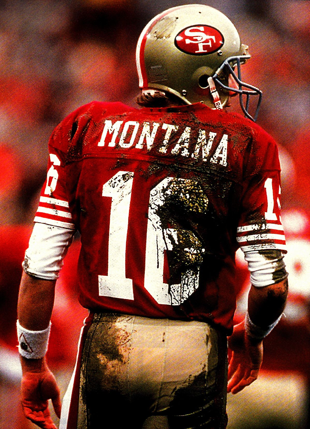 Joe Montana The man the myth the legend. Threw 11