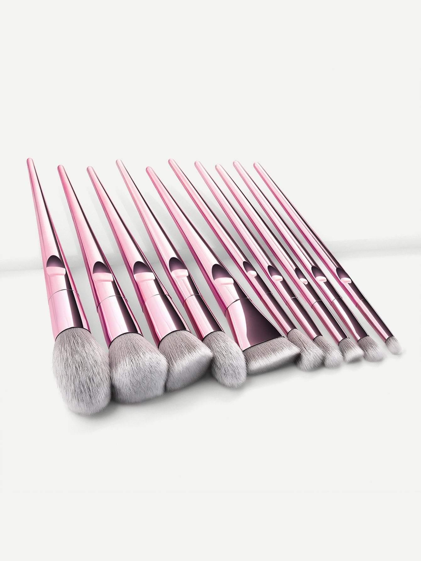 Buffer Makeup Brush 10pcs . . . . . . mua motd