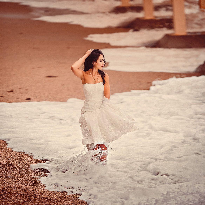 Wedding dresses for black girls  Photograph Bride Olga in Black Sea by Viacheslav Kalinin on px