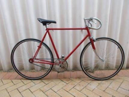 Mens Vintage Restored Malvern Star Single Speed Road Bike Medium