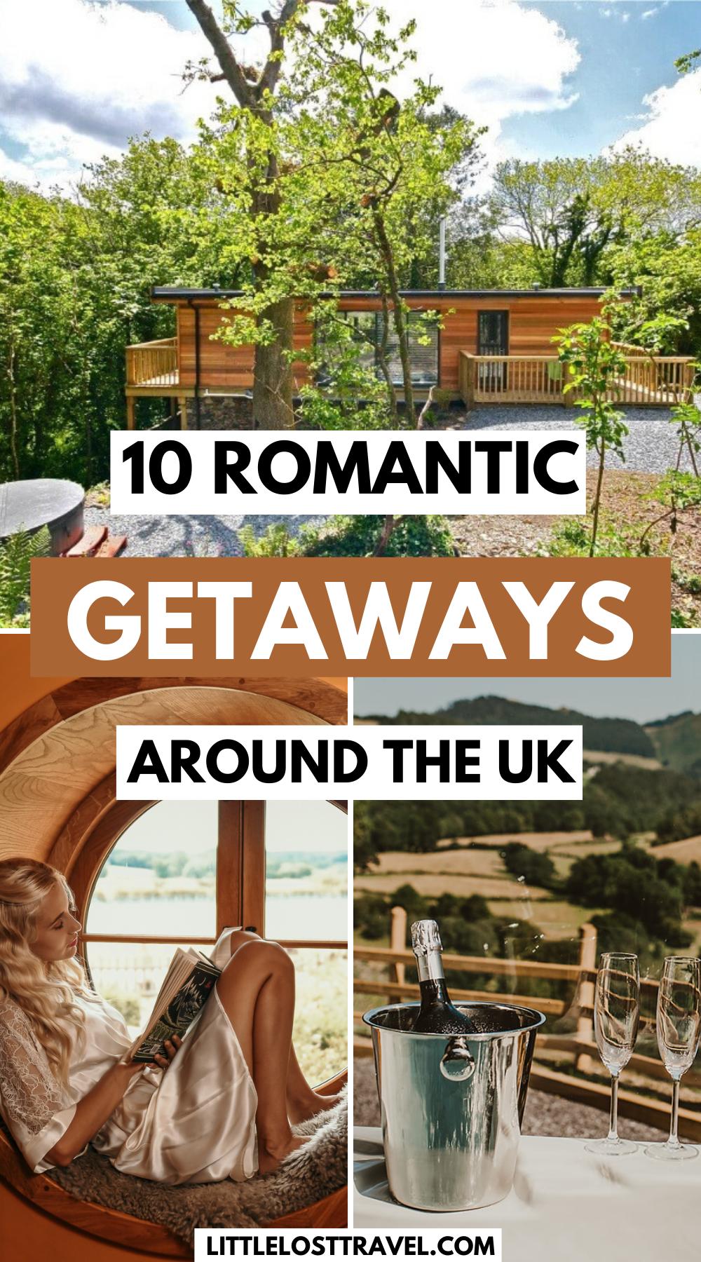 10 Romantic Secluded Getaways Around The Uk In 2021 Weekends Away Uk Lovers Getaway Secluded